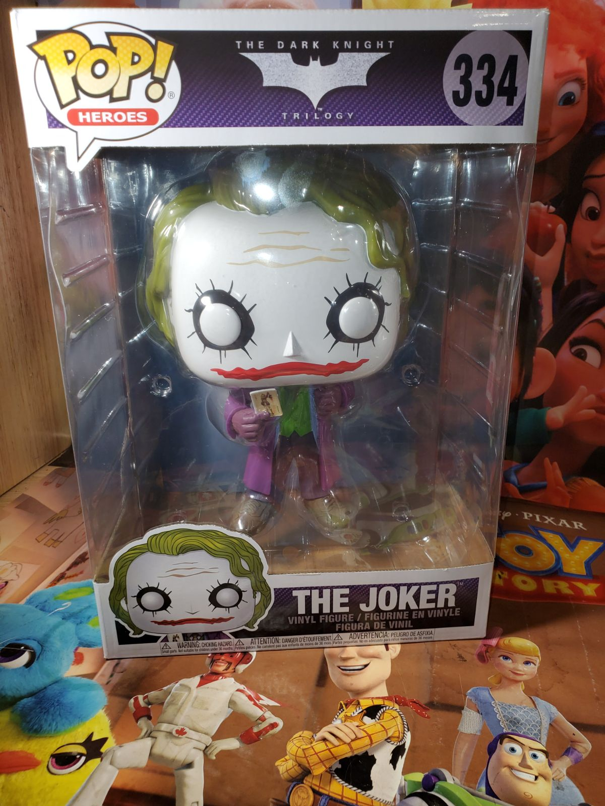 "Dark Knight Joker 10"" Funko Pop"