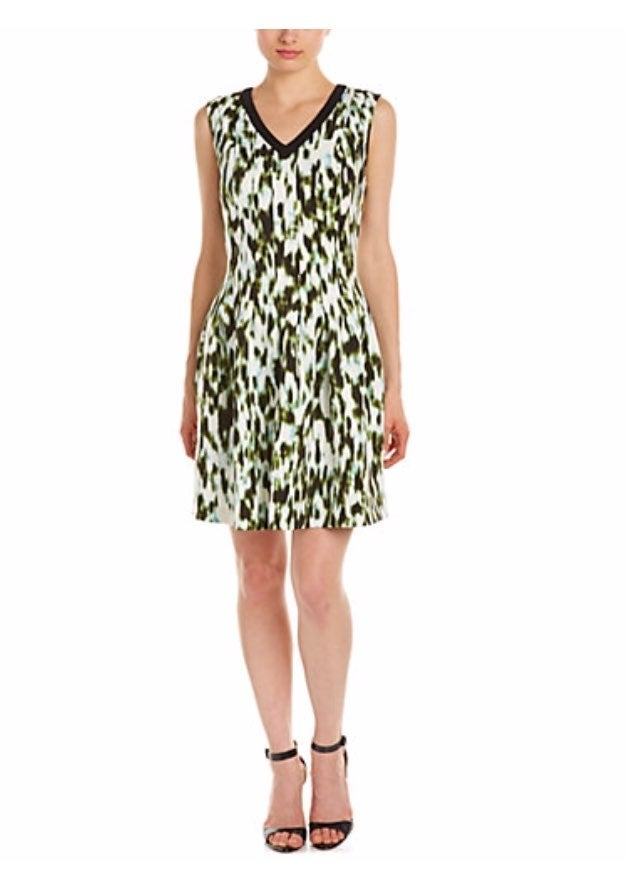 Marc New York Scuba pleated Fit and flar
