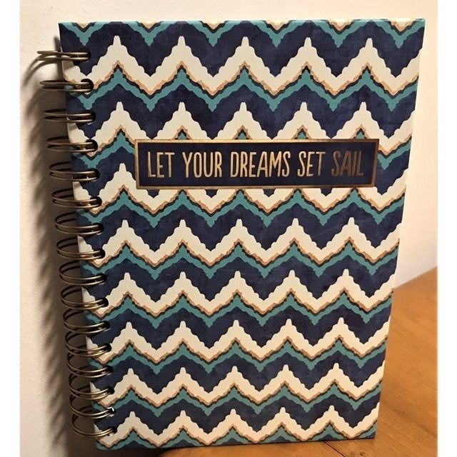 Let Your Dreams Set Sail Journal