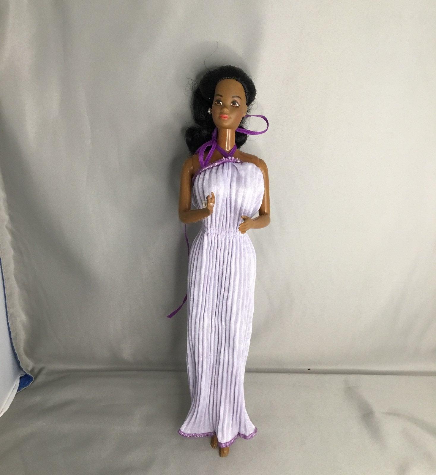 Barbie grecian dress.