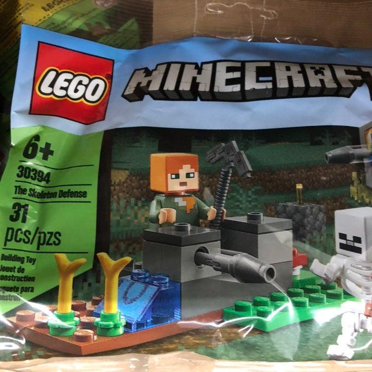 LEGO Minecraft polybag 30394