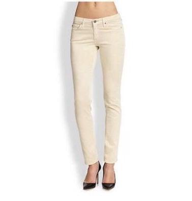 AG Ivory Corduroy Pants
