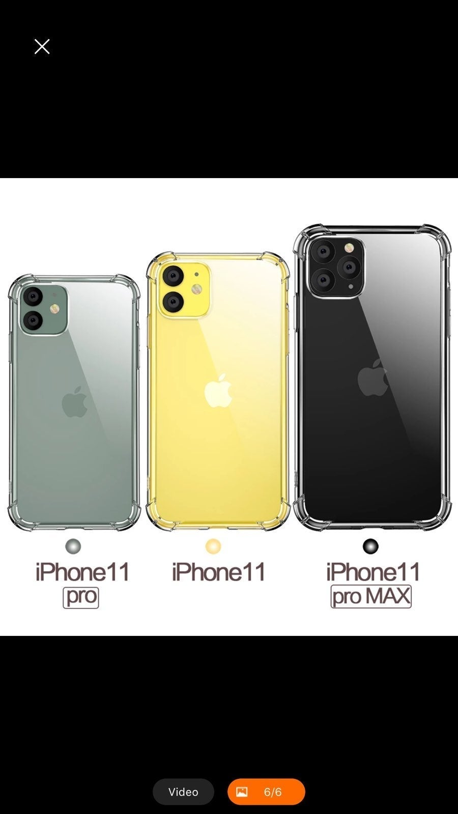 iPhone 11 Anti-Scratch TPU PC Clear Case