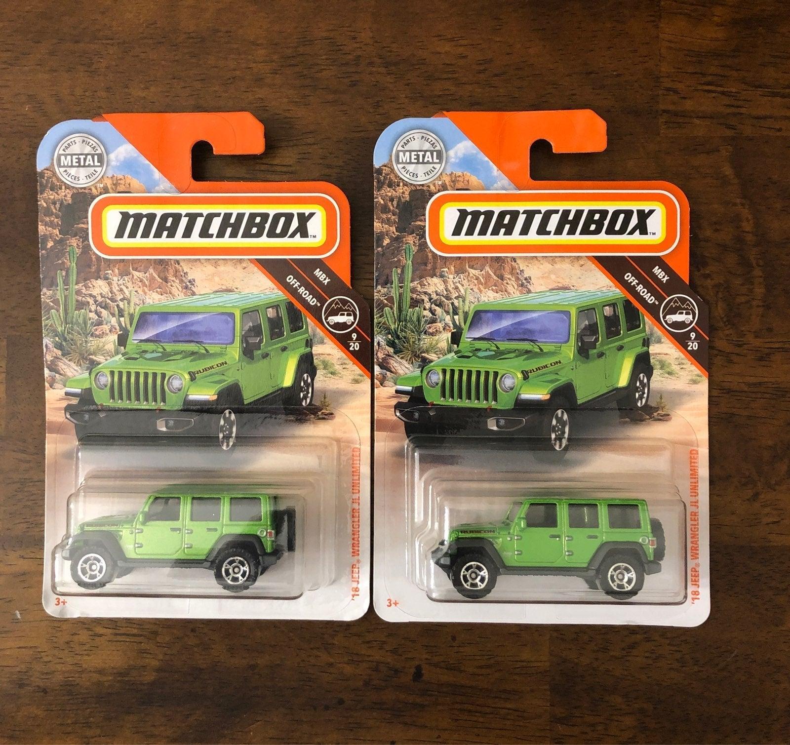 Matchbox '18 Jeep Wrangler JL Unlimited
