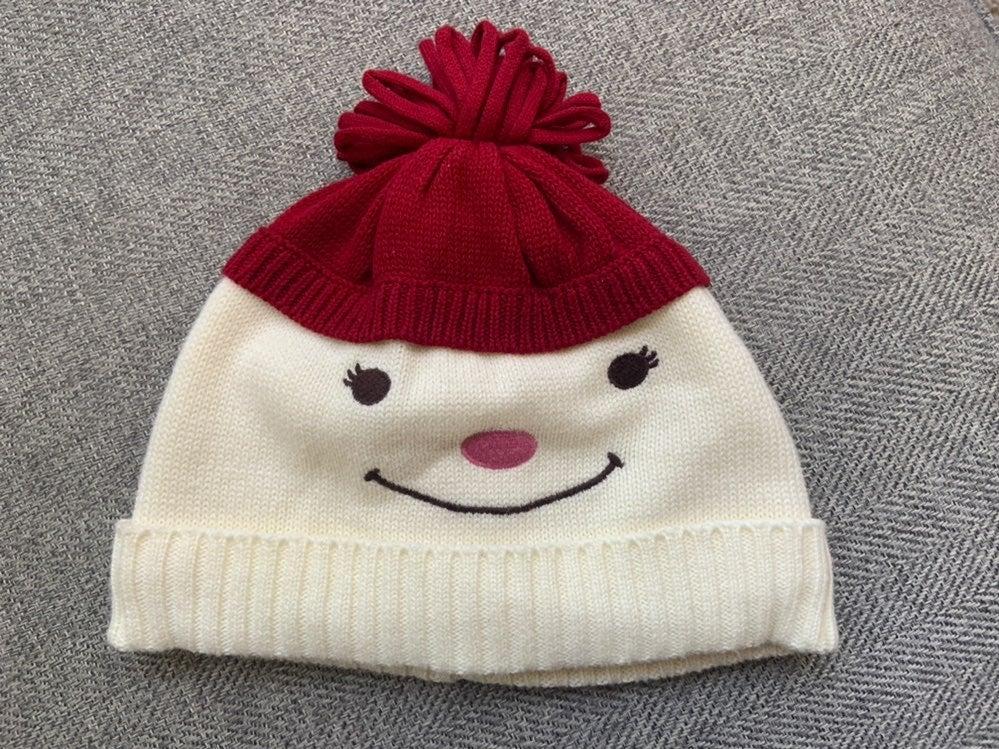 NWOT Gymboree Snowman Hat 12-24 mon