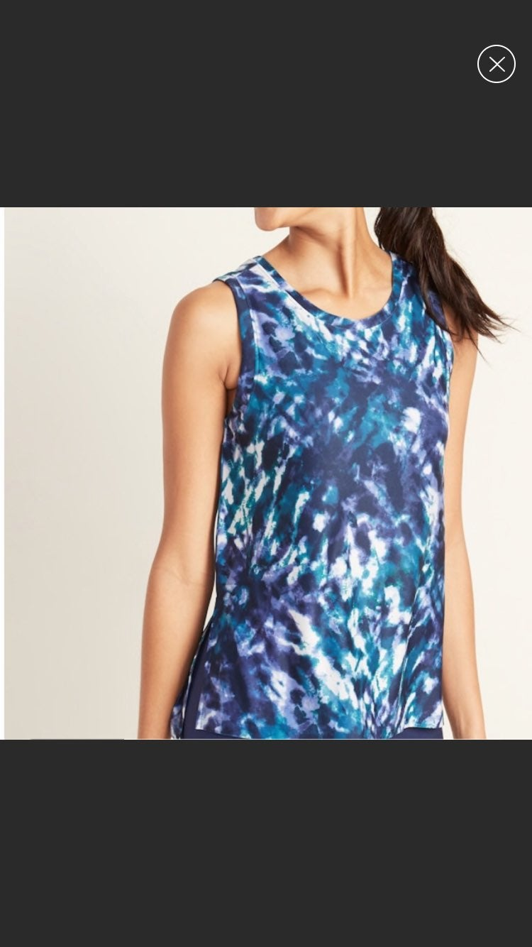 NEW Old Navy Go Dry Active Tank Top