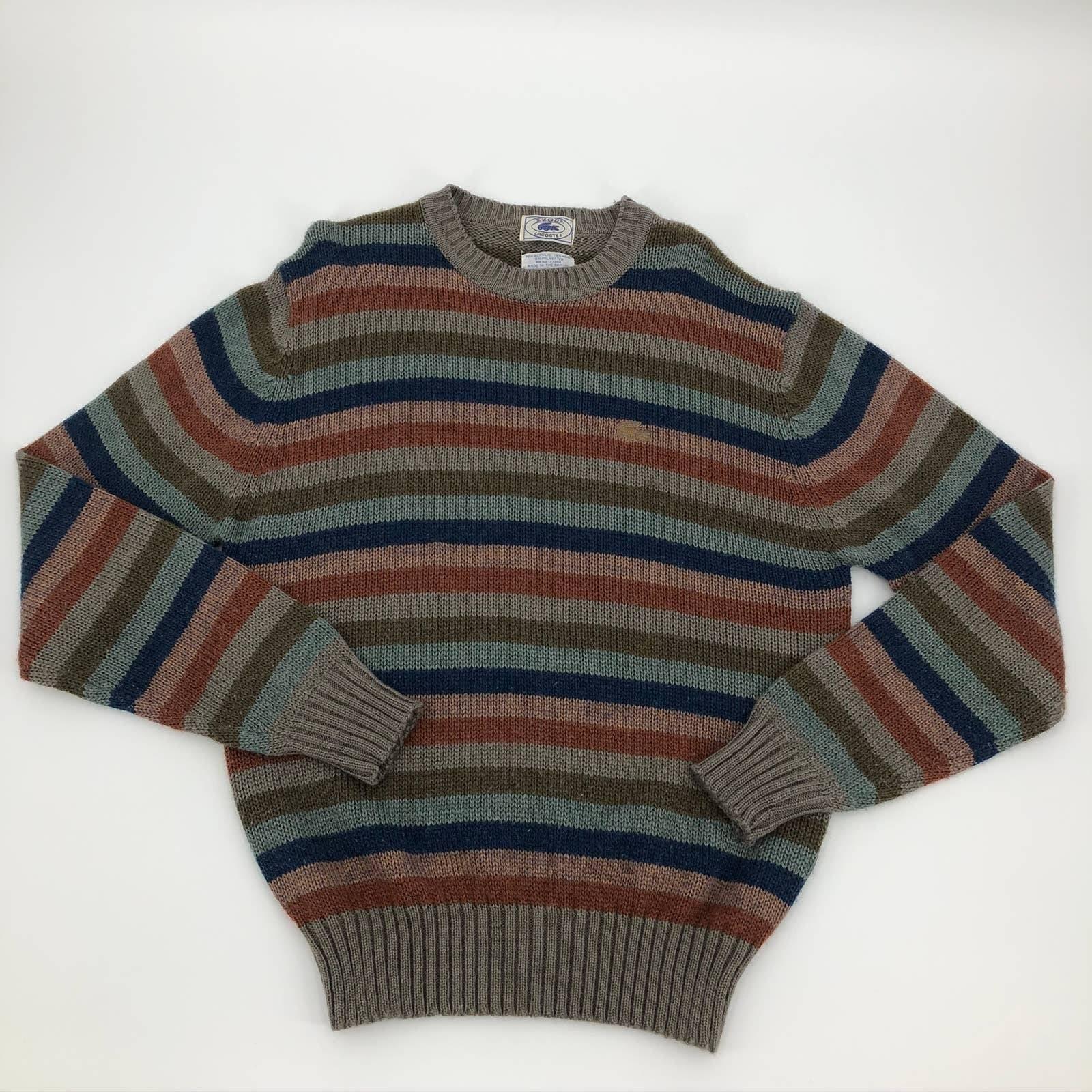 Izod Lacoste Large Mens Sweater Wool