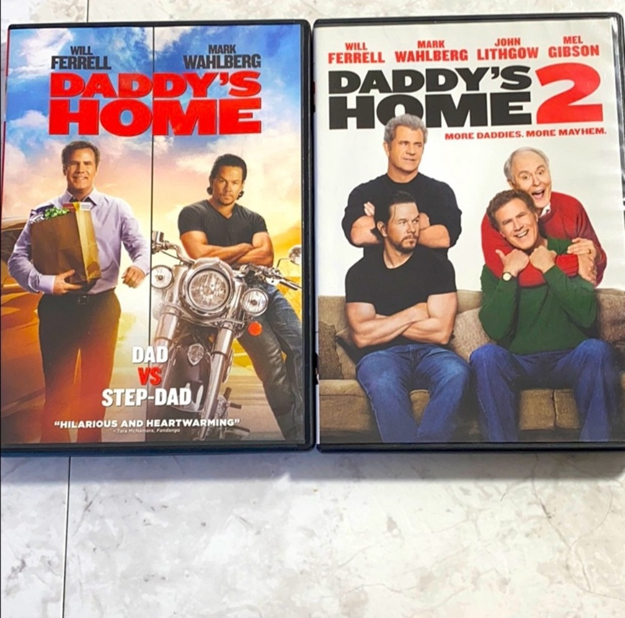 Daddy's Home DVD's