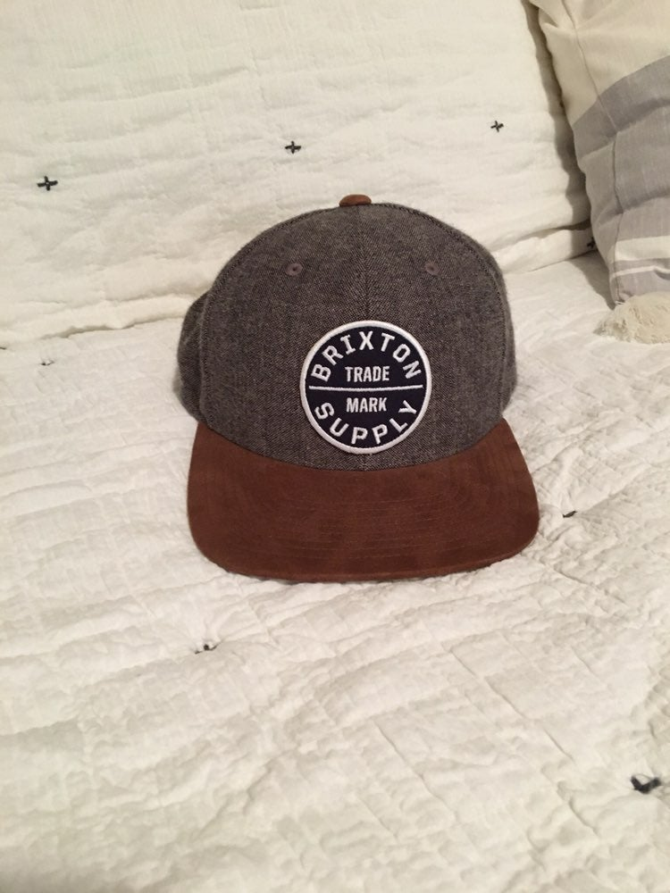 Brixton snap back Hat