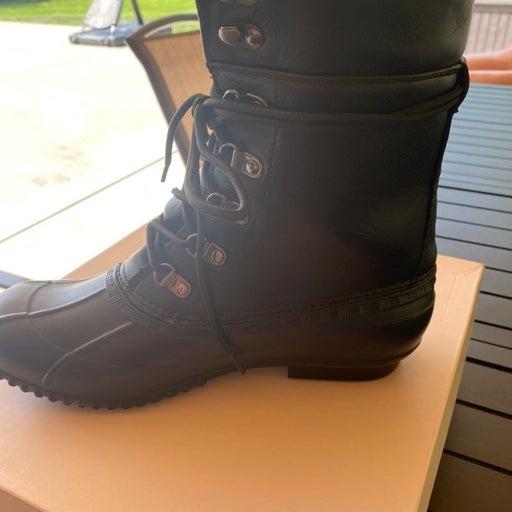 JustFab Flat Boots