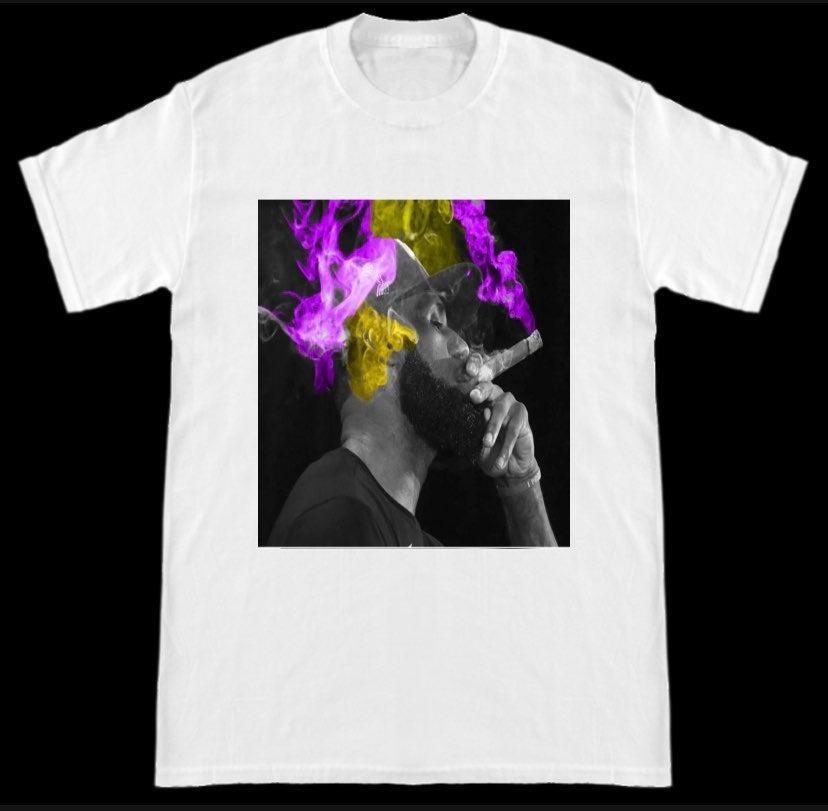 Lebron James NBA LA Lakers champion ciga