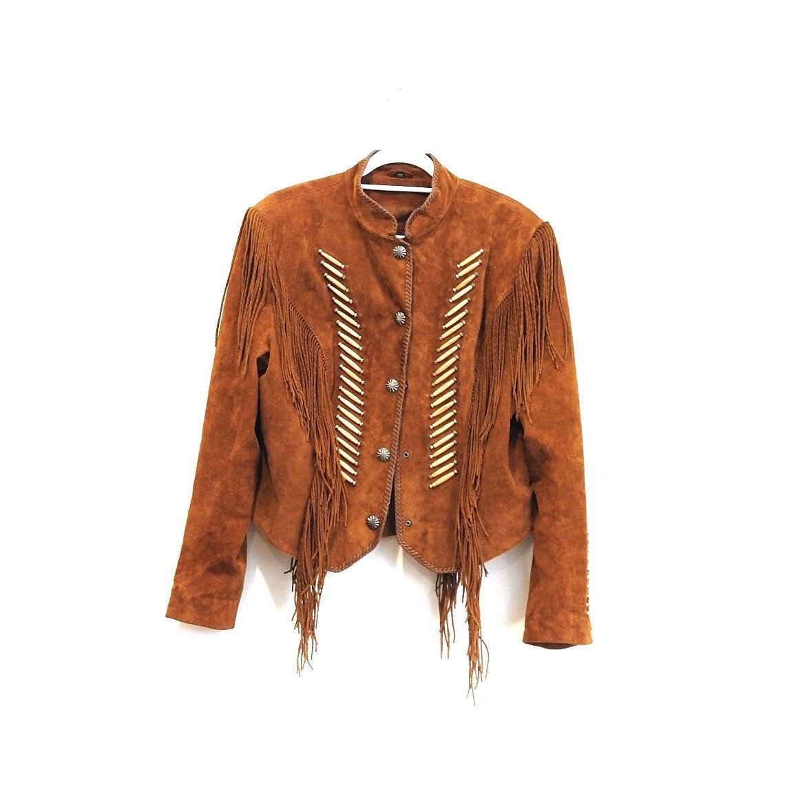 Cripple Creek Fringe Leather Jacket