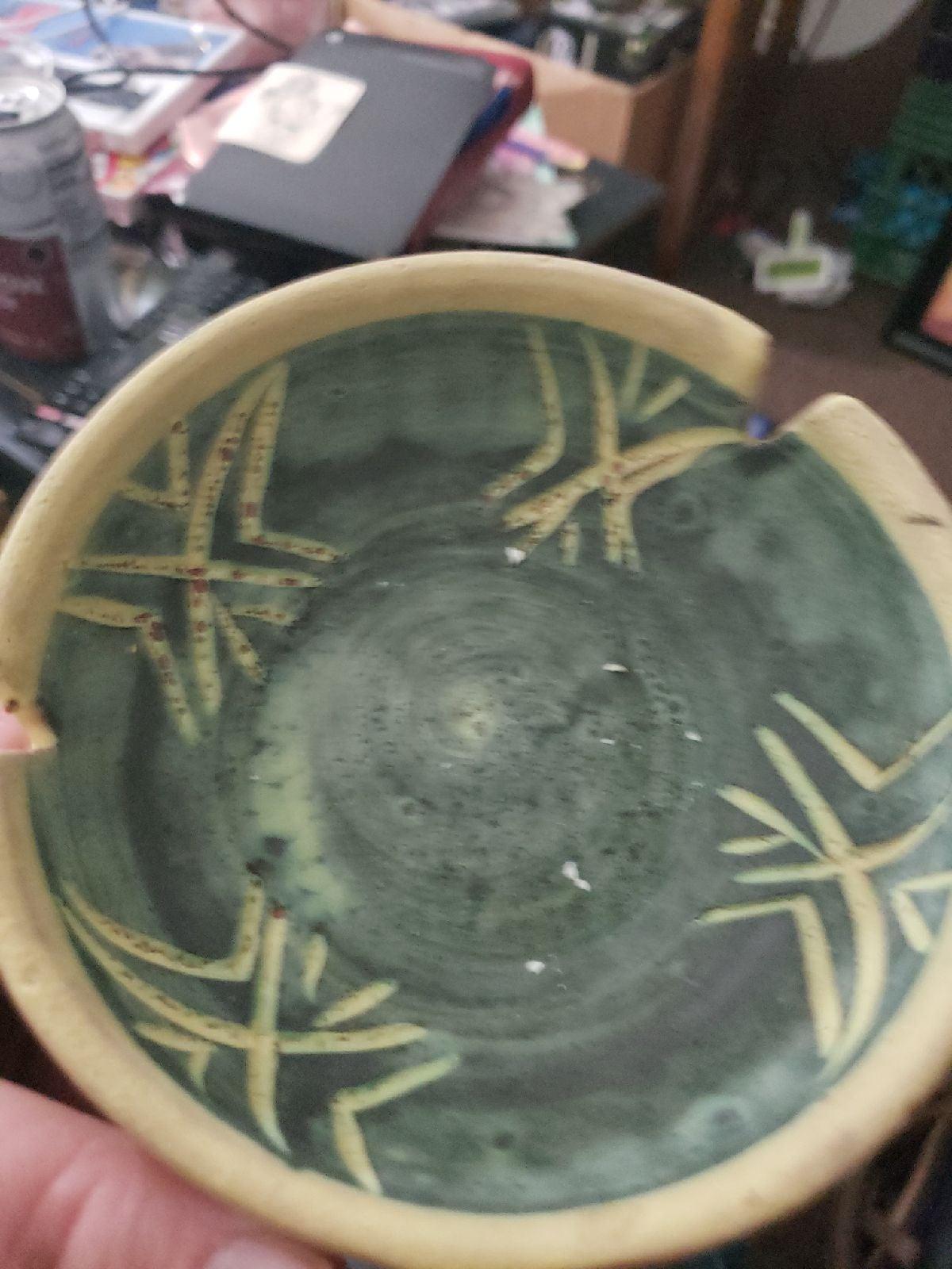 Ceramic incense dish