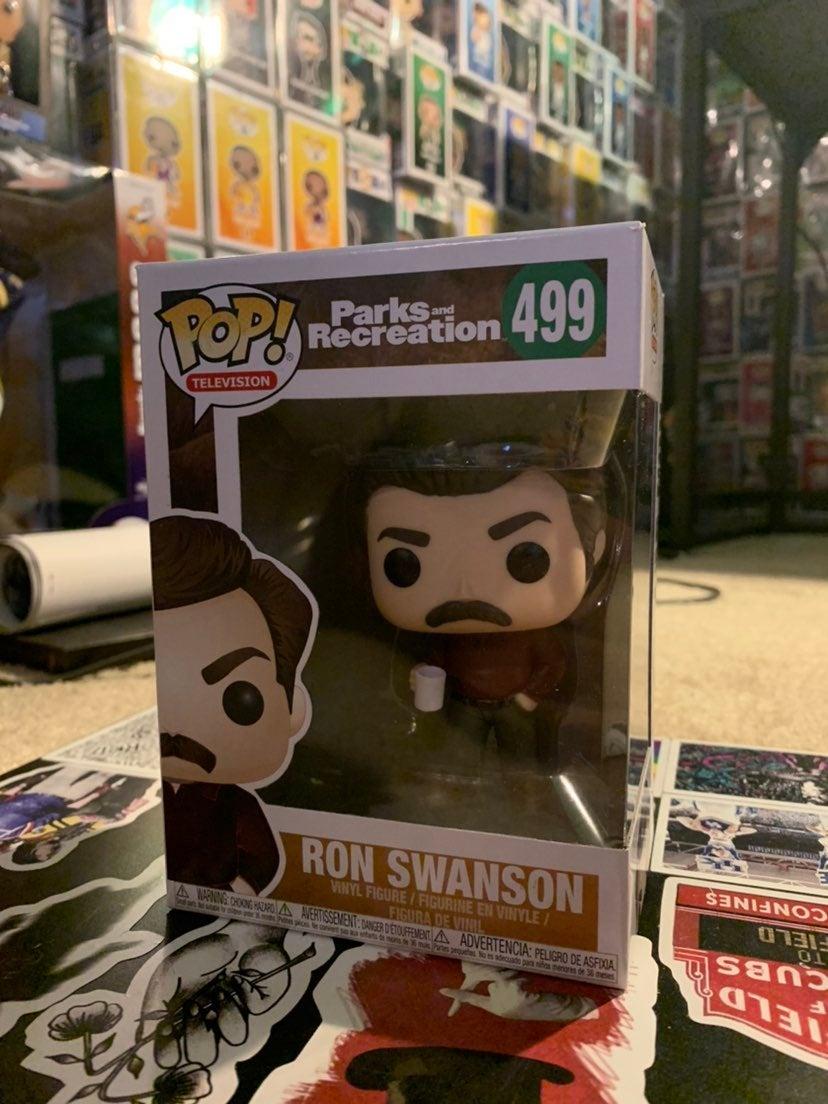 Ron Swanson Funko Pop