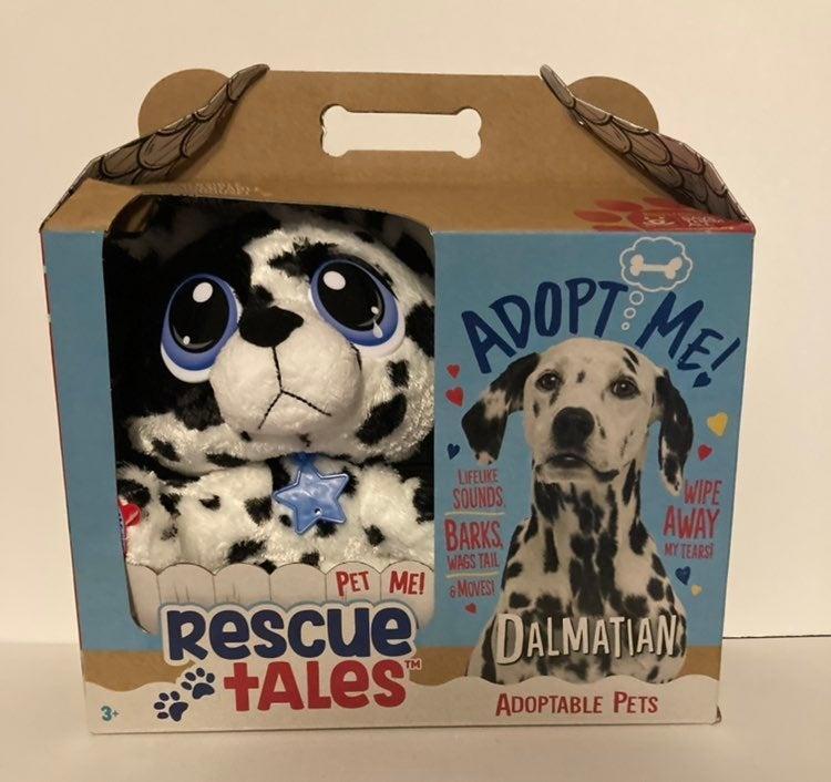 Rescue Tales Dalmatian new in hand