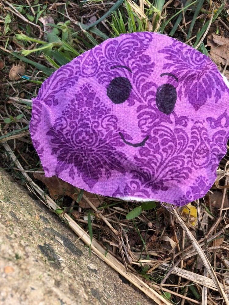 Purple worry blob
