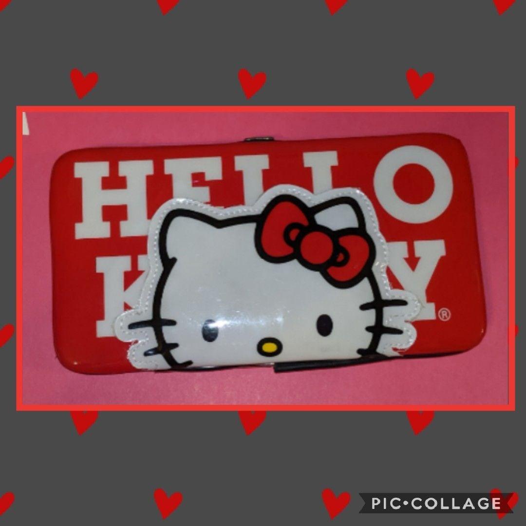 Hello Kitty Hard Case Loungefly Wallet