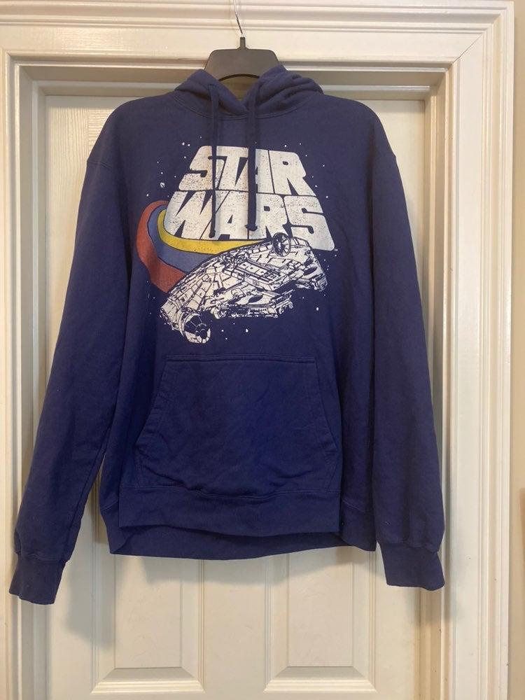 Vintage Star Wars Blue Large Lucasfilm H
