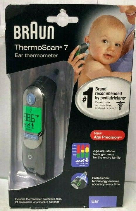 Braun ThermoScan 7 Digital Ear Thermomet