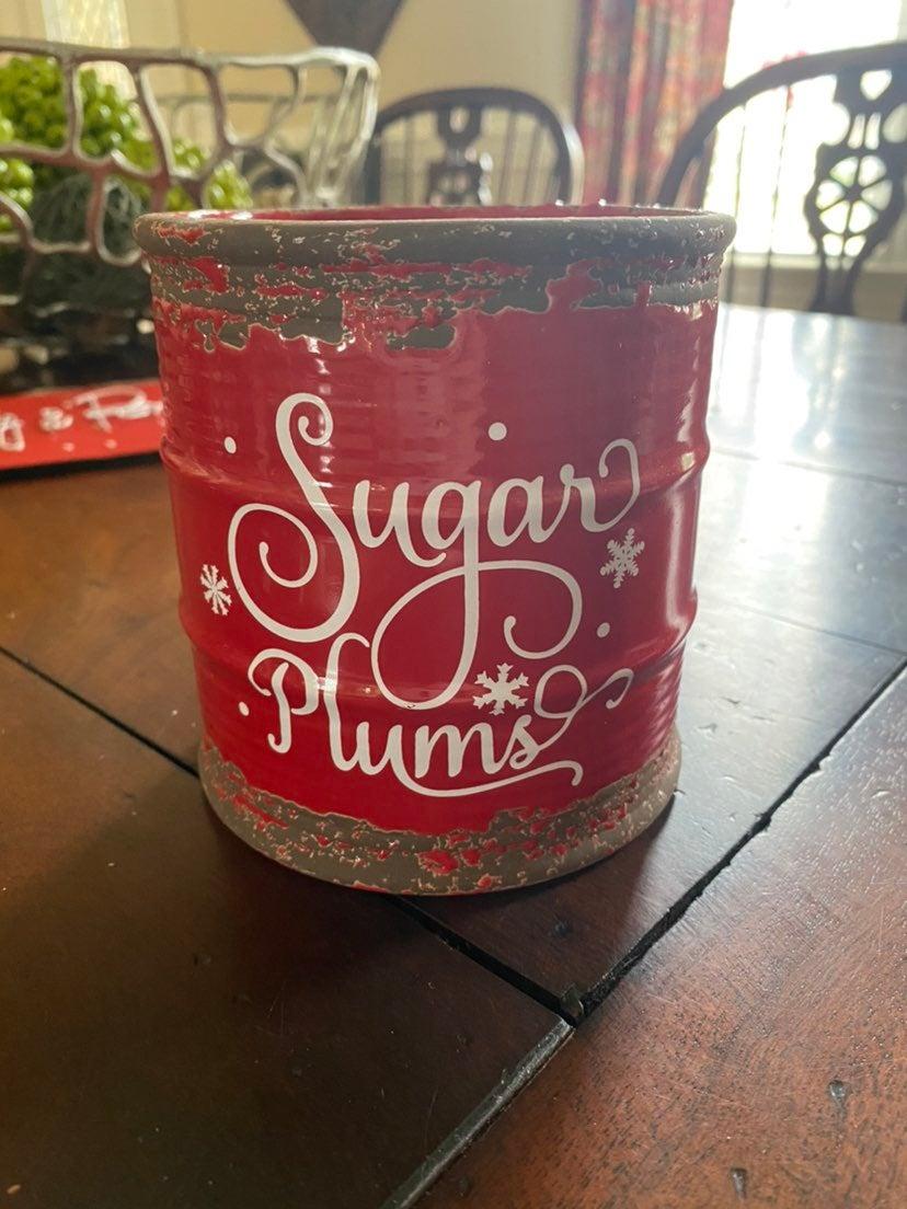 Christmas Decorative Jar