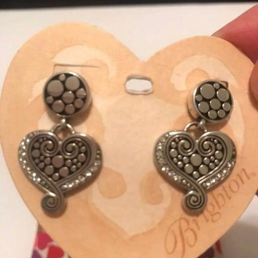 Brighton Pop Heart Swarovski Earrings