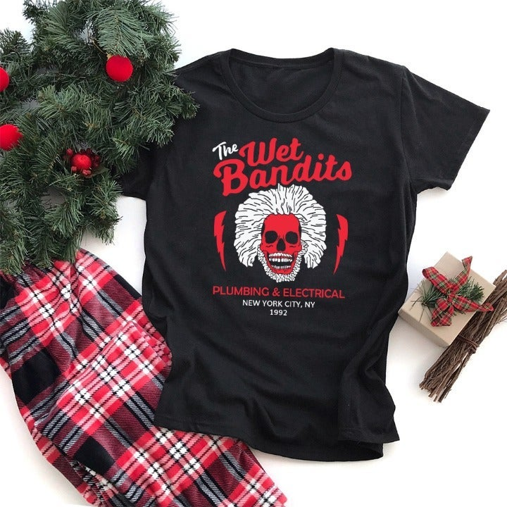 Home Alone The Wet Bandits Graphic Tee