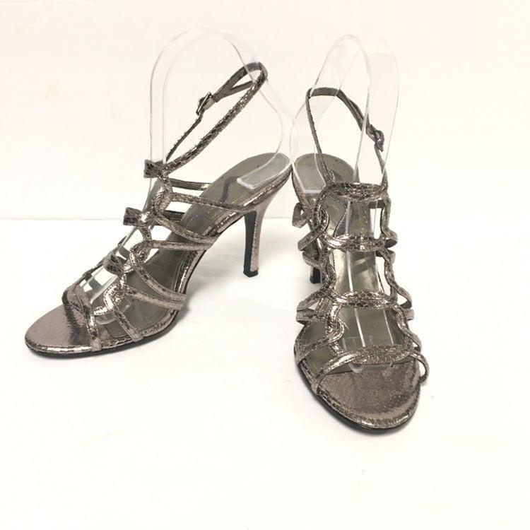 Nina Sandals Pewter Size 7.5