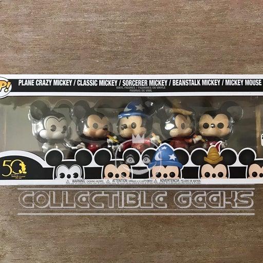 Funko Pop Disney Mickey Mouse 5pk Amazon