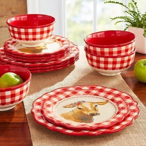 New Pioneer Woman Dinnerware Set