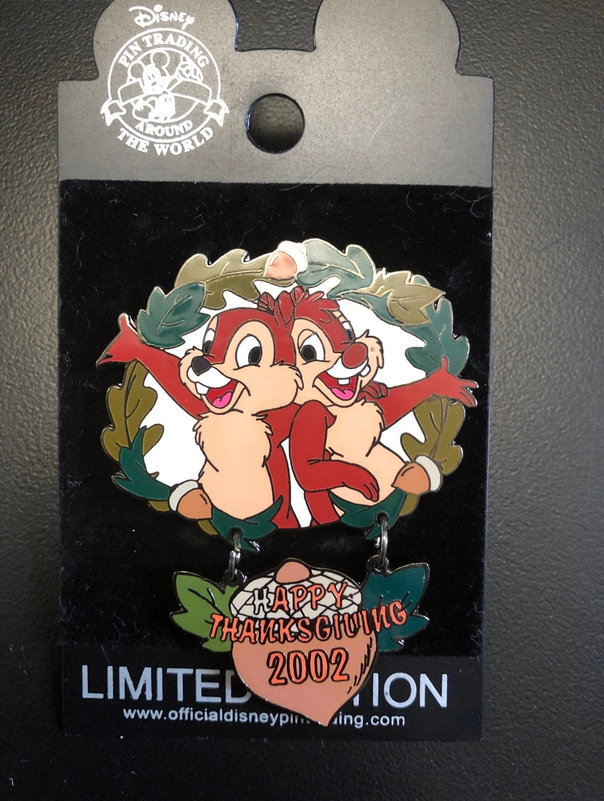 NWT LE Chip and Dale Disney Pin