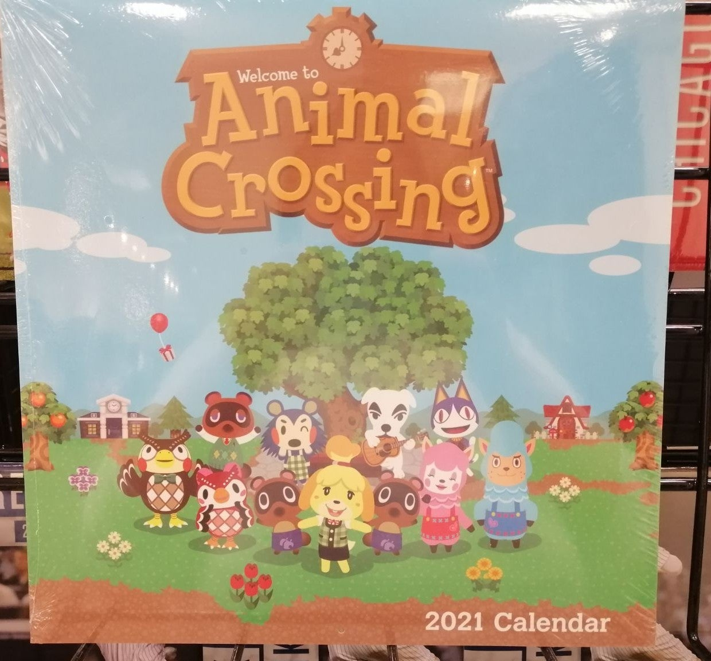 2021 animal crossing calander