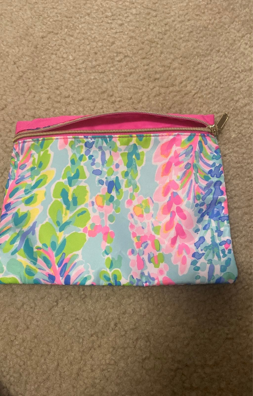 Lilly pulitzer makeup case