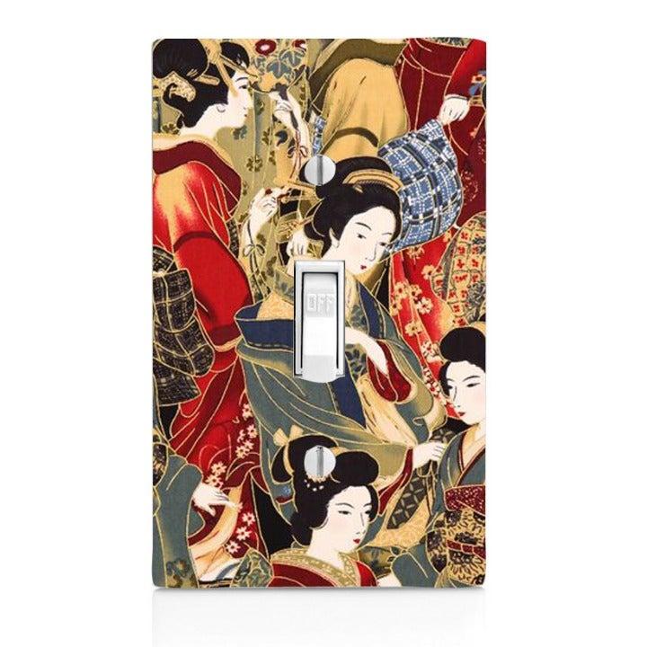 Geisha Single Light Switch Cover