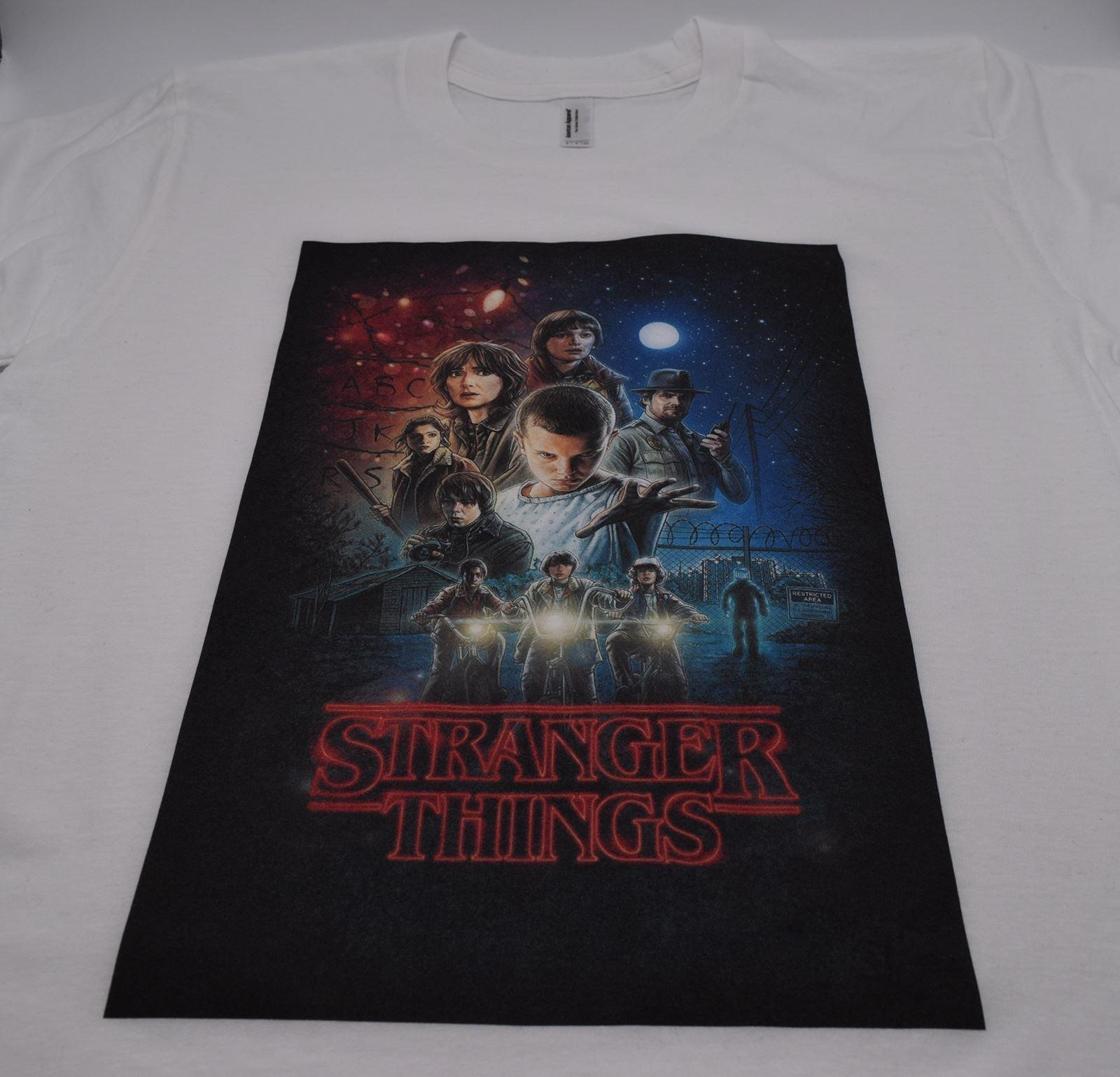 Stranger Things Unisex Shirt DTG