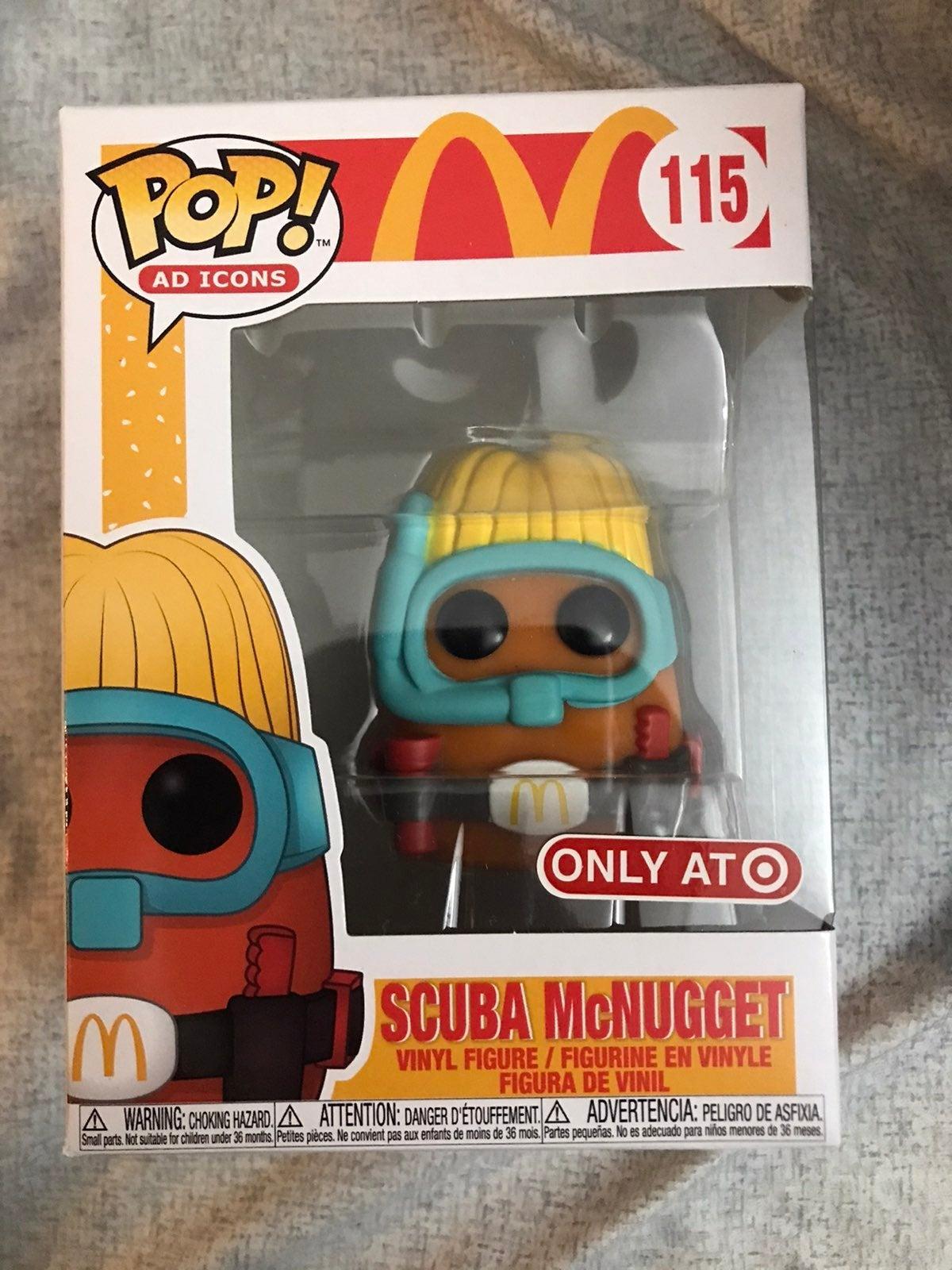 Funko Pop Scuba McNugget McDonalds