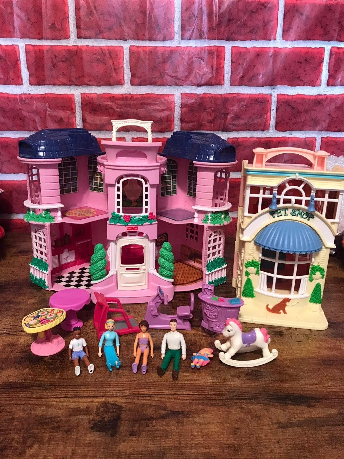Fisher Price Sweet Streets playset