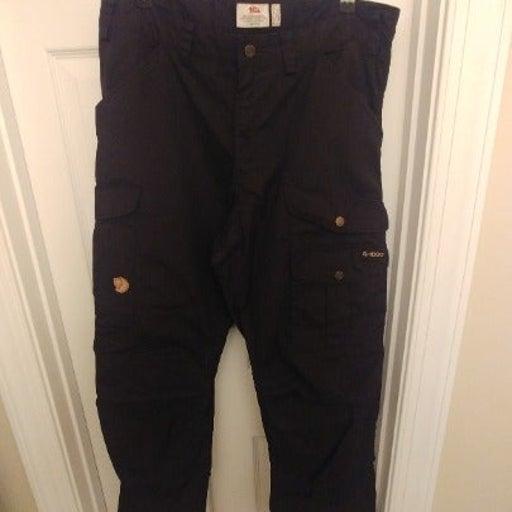 Fjällraven Vidda Pro Trousers. Black.
