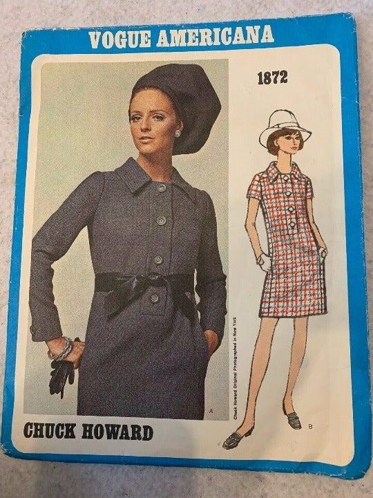 Vogue Americana Straight Dress Pattern