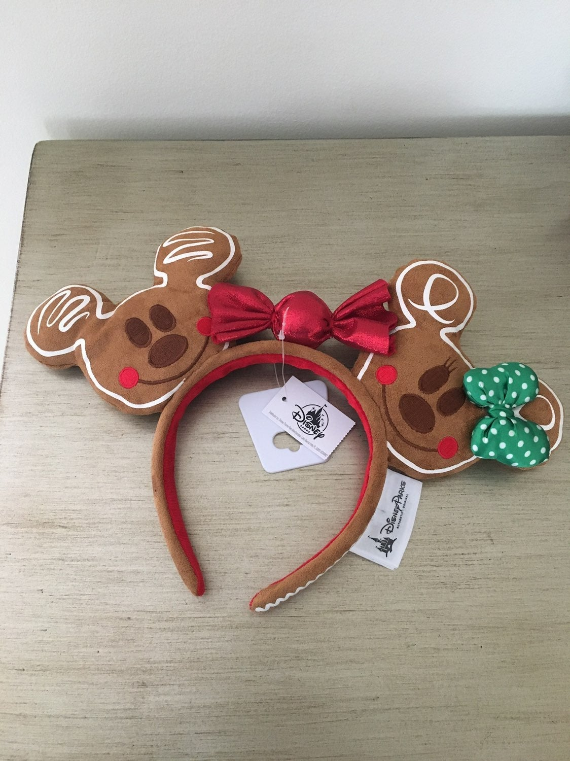 Disney gingerbread ears holiday