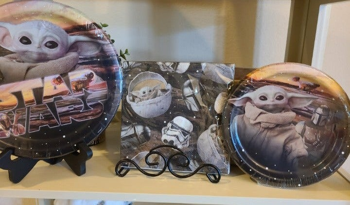 STAR WARS THE CHILD YODA PARTY SUPPLIES