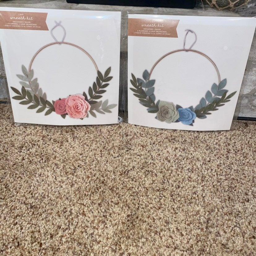 DIY Floral Wreath Making Kits (2)