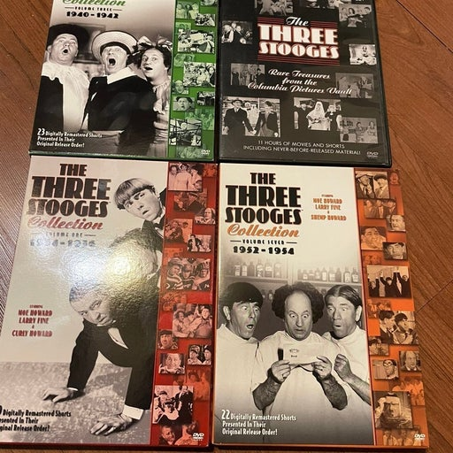 The three stooges collection dvd