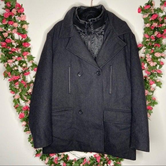 David Bitton Buffalo Gray Wool Winter L