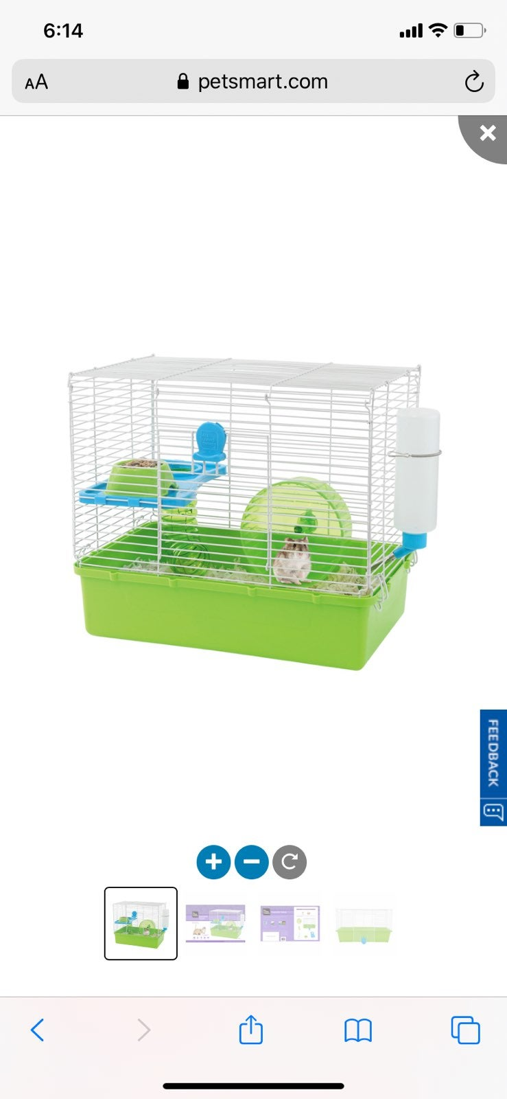 Brand new hamster cage
