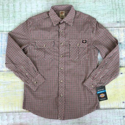 Dickies Woven Regular Fit Plaid Shirt S