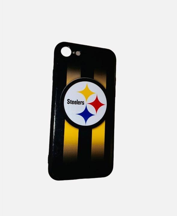 Iphone 6 Black Steelers Phone Case