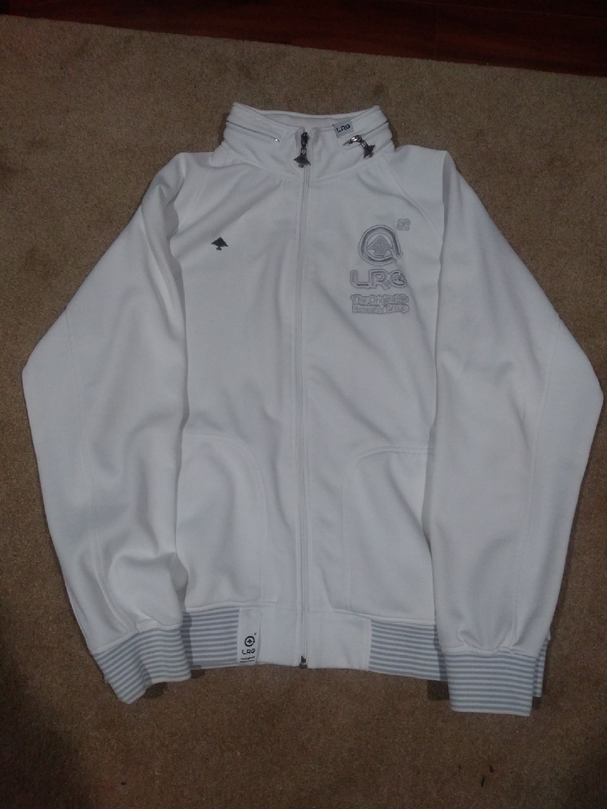 Lifted Research Group warm-up jacket