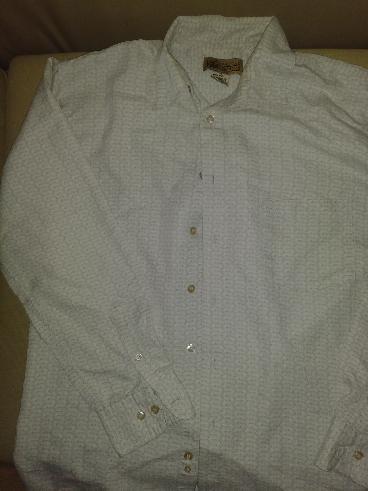 Casual classics mens button up