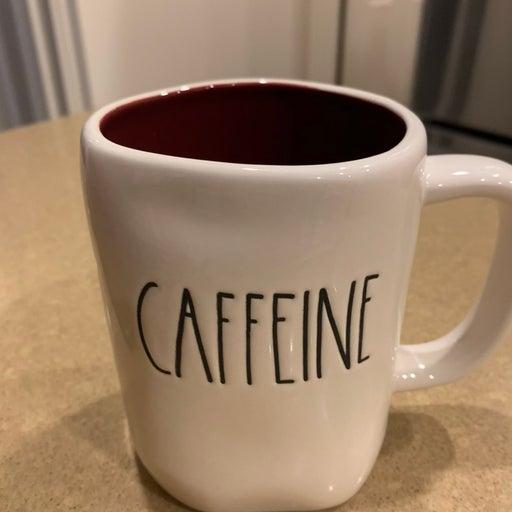 Rae Dunn CAFFINE MUG