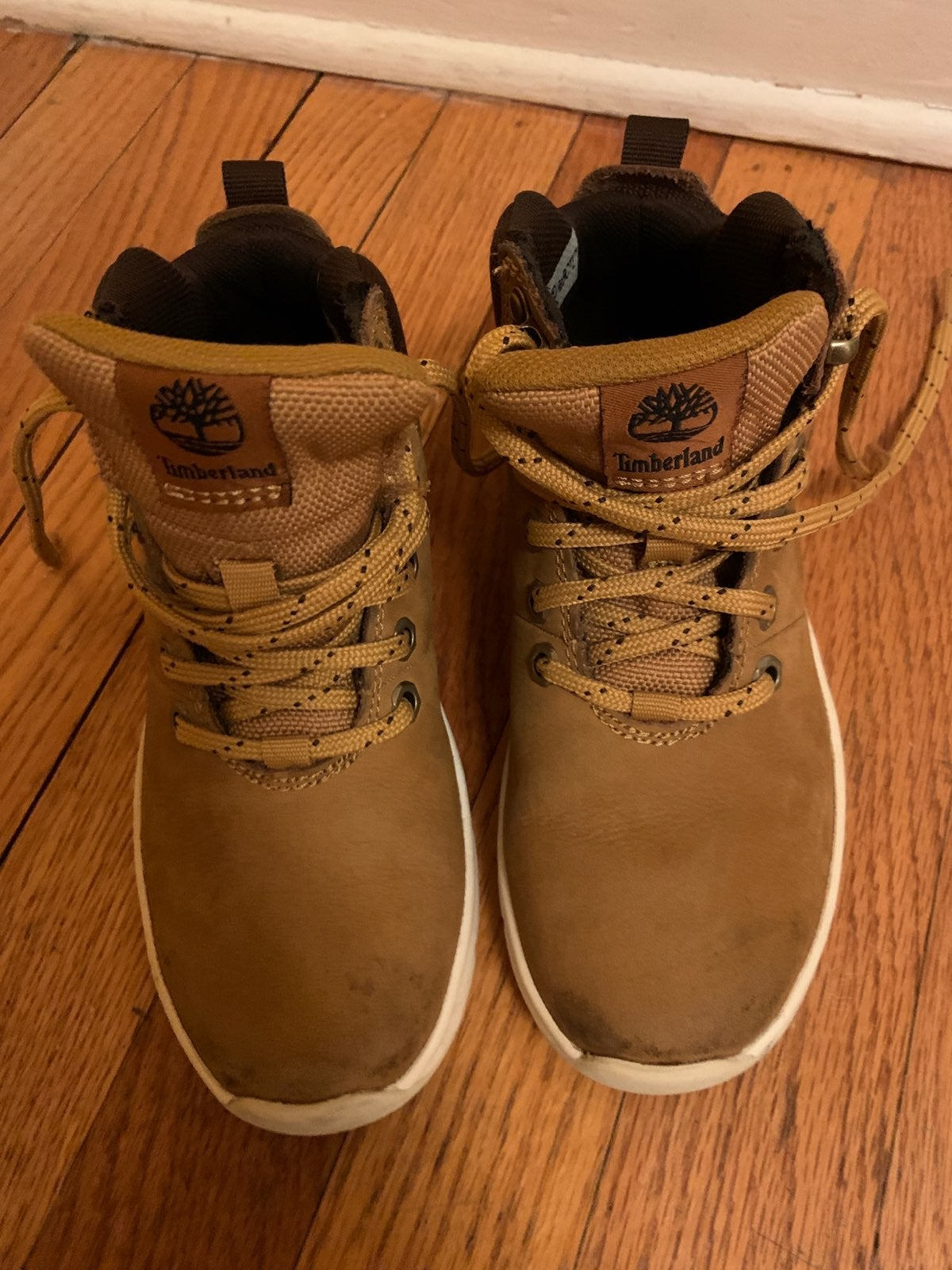 Little boys Authentic Timberland boots13